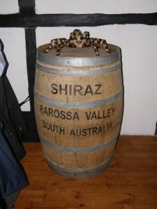 vino australiano botte shiraz