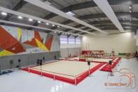 Vue intérieure du Gymnase