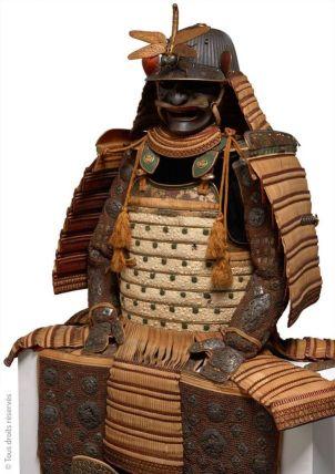 Musée guimet samourai