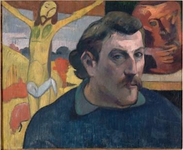 """""""Autoportrait au Christ jaune"""" Paul Gauguin, musée d'Orsay ©RMN"""