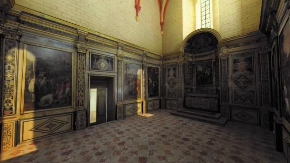 Palais de la Berbie Image du film 3D©Art Graphique & Patrimoine