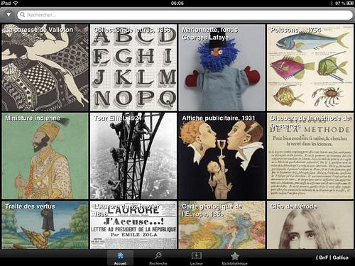 BNF gallica app pics