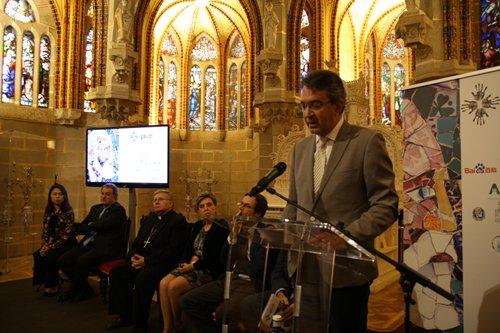 Conférence de presse de Baidu au Palais épiscopal d'Astorga en Espagne le 19 octobre 2017 (c) Baidu Baike