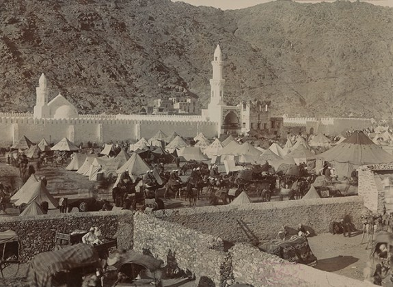 The Mosque of Khaif and Mina