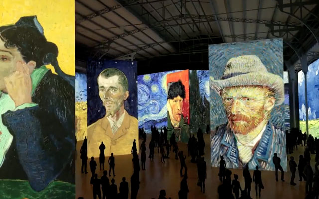 Imagine VanGogh Villette 1 - Tour d'horizon de l'offre culturelle immersive mondiale - Paxi Collectif