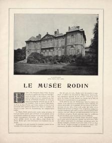 Musée rodin article musée rodin