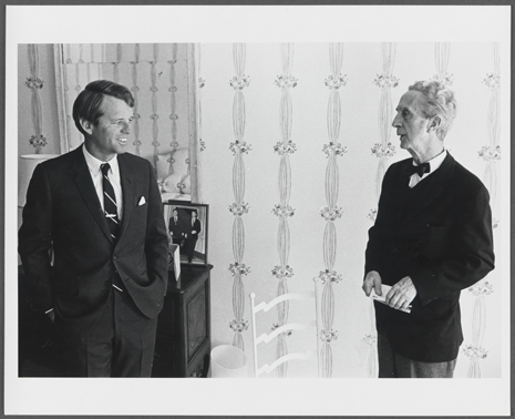 Portrait de Robert F. Kennedy, c. 1968. Norman Rockwell Museum Collections. All rights reserved.