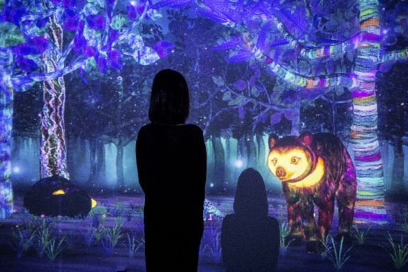 National Museum of Singapore story of forest teamLab 13