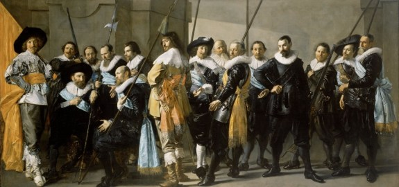 ...inspiré de Militia Company of District XI under the Command of Captain Reynier Reael, Known as 'The Meagre Company', Frans Hals, Pieter Codde, 1637