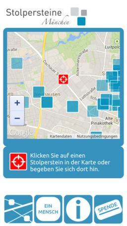 Stolpersteine Muenchen app 2