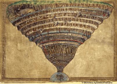 Vatican Dante's Divina Commedia Sandro Botticelli (c) Biblioteca Apostolica Vaticana