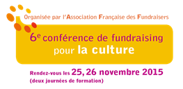 aff conférence fundraising culture logo
