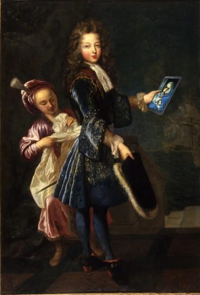 Portrait de Louis Alexandre de Bourbon (1673-1737), Comte de Toulouse, Jean-François de Troy © Hugo Maertens - Musée des Beaux-Arts d'Agen