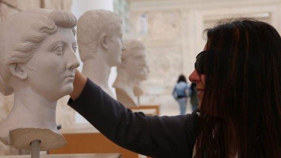 ara-pacis roma aveugle visit