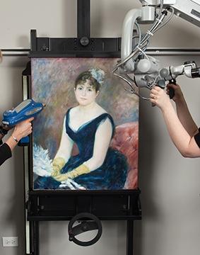 art inst chicago Renoir-True-Colors-Conservation-lab_360