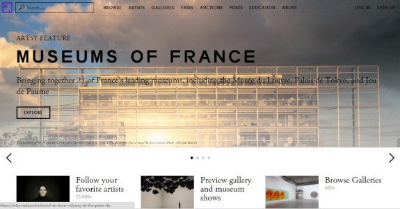 artsy museums of france