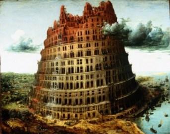"""""""La Tour de Babel"""" de Pieter Bruegel de Oude, 1556, Collection Museum Boijmans Van Beuningen"""