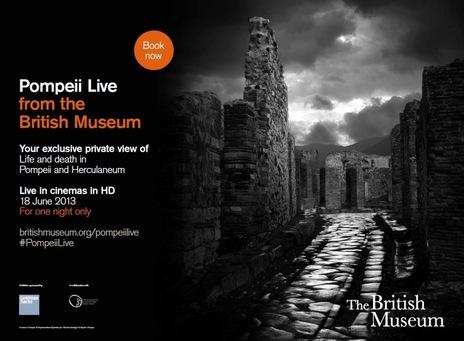british museum pompei live