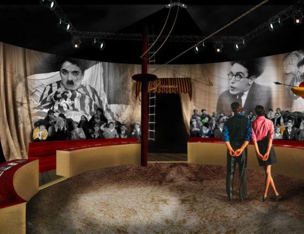 Le Cirque pour découvrir en immersion l'acteur Charlot et des célébrités qui ont compté dans sa vie (c) Chaplin's World