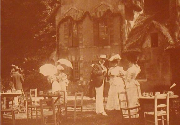 Photo de famille prise en 1901