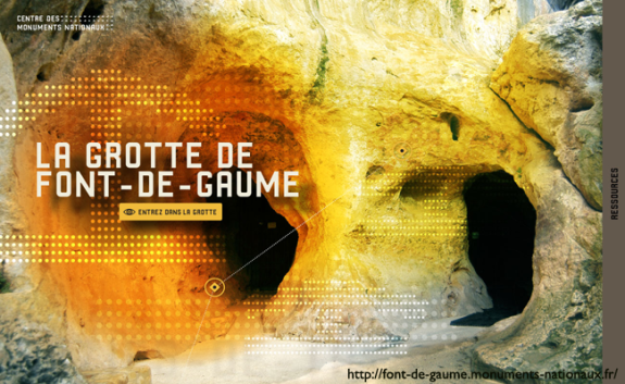 cmn grotte de fond de gaume hp site
