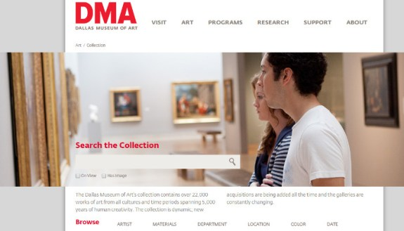 dma website search collection 1
