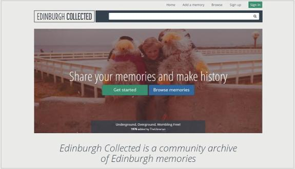 edinburgh collected website