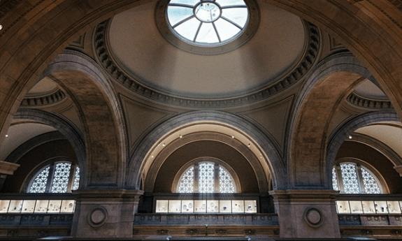 Le Metropolitan Museum de New York lors d'un événement #emptymet. Photo: Dave Krugman / Instagram