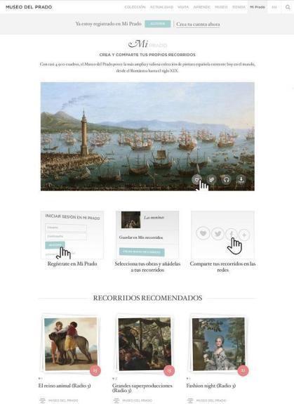 Capture d'écran du nouveau site web (c) ABC Madrid