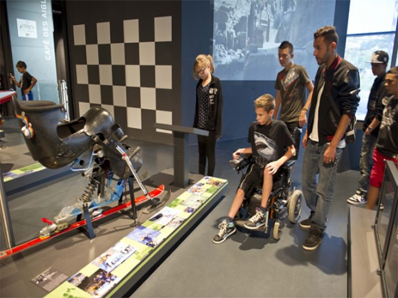musée du sport handicap edf