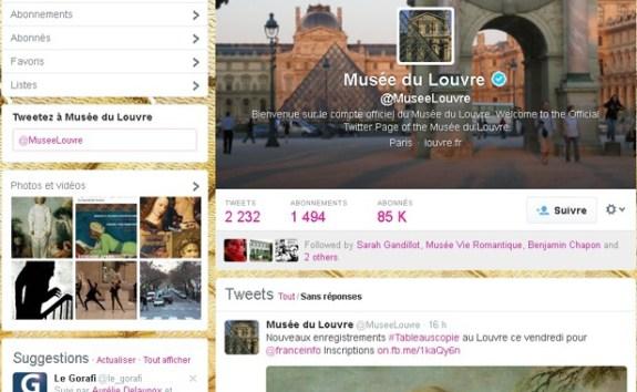 musée louvre twitter