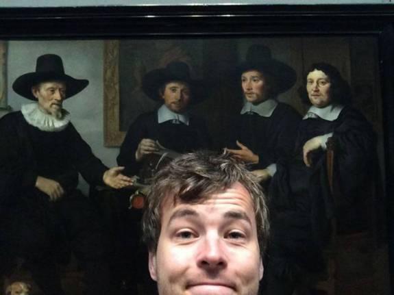 national gallery selfie 1