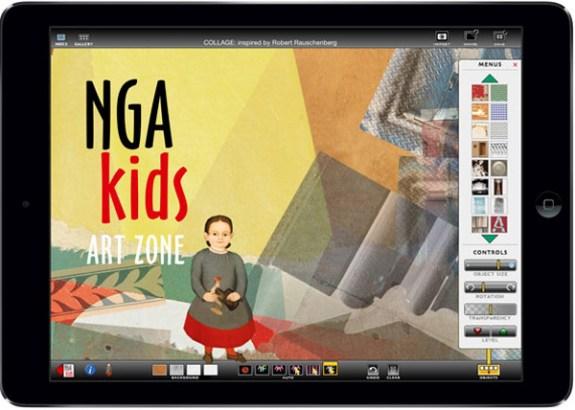 nga kids app  ipad