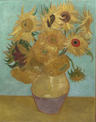 phila van gogh sunflowers