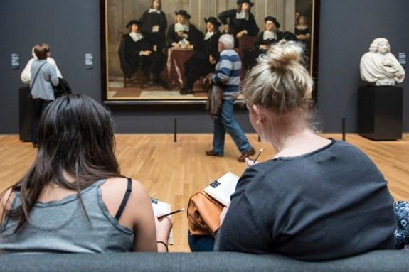 rijksmuseum drawing campaign image visiteurs