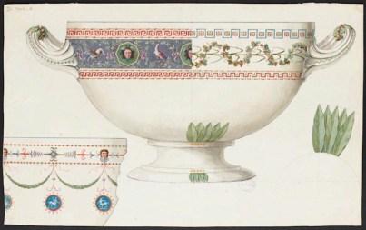 sevre céramique vase