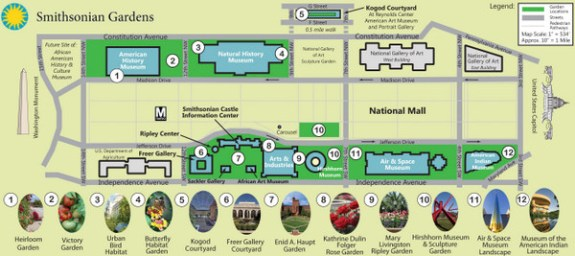 Edited draft Smithsonian Gardens Map 2014 SAG