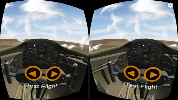smithsonian national air space museum appli VR hangar test flight