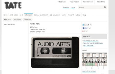 tate audio arts-tate-40126366