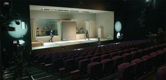 Enregistrement VR de la pièce Lazarus. Photo: V&A