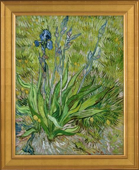 """Les Iris"" de Van Gogh reproduit par Verus Art"