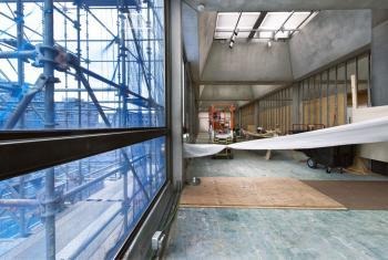 Travaux de rénovation du Yale Center for British Art