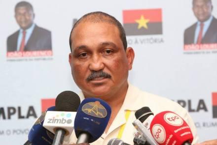 Dirigente do MPLA pede para sair do Bureau Político