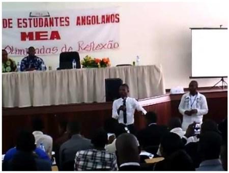 Visão do Movimento de Estudantes Angolanos sobre o PAPE - Capita Inga