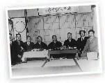 Les maîtres du Karaté, photographiés en 1930 à Tokyo au Japon