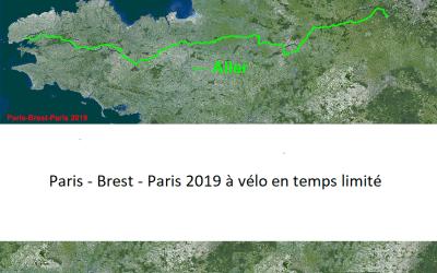 Paris-Brest-Paris 1200  km en vélo d'une traite