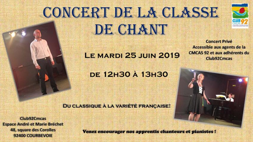 Club92Cmcas Concert 25 Juin