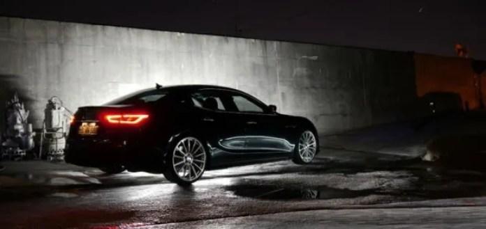 Maserati Ghibli Black Bison Giappone 1