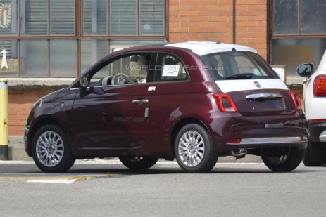 Fiat 500 restyling 7