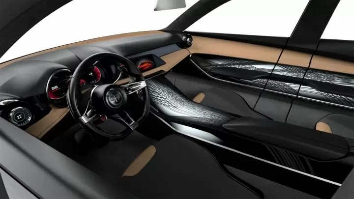 Gli interni dell' Alfa Romeo Tonale